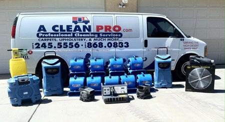 Van-with-equipment